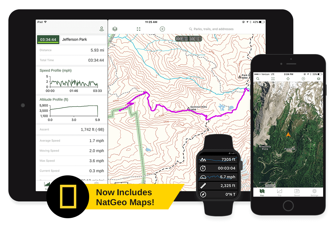 Hiking Trail Maps, Hunting Units, 4x4 Offroad App | Gaia GPS