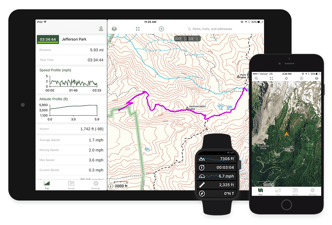 Gaia GPS - iPhone and iPad