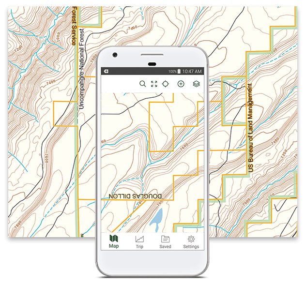 Best Hunting App - Offline Land Ownership Hunting Maps
