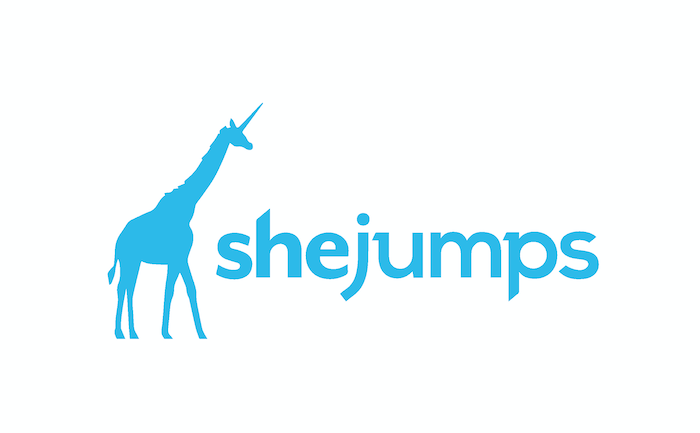 sheJumps logo