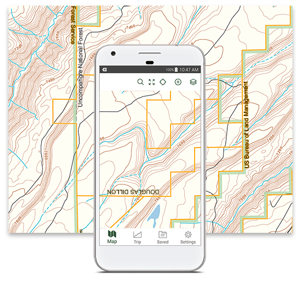 Offroad Maps w/ Forest Service Roads and MVUM