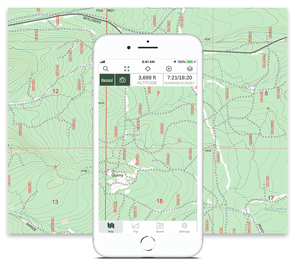 Best 4x4 App - Offline Offroad and Overlanding Trail Maps | Gaia GPS