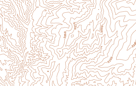 Preview of Contour Lines - Meters