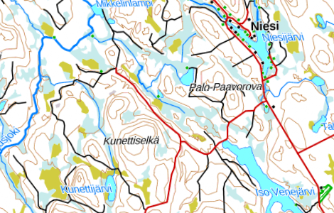 Preview of Finland Topo Maps