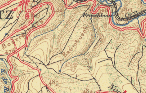 Preview of Luxembourg 1927 Topo