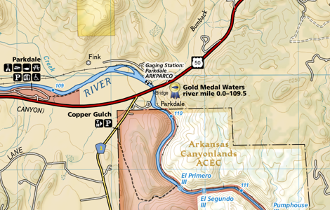 Preview of NatGeo Fishing & River Maps