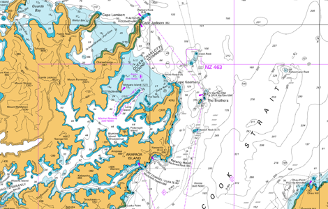 Preview of Australia/NZ Nautical Charts